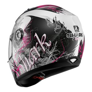 Casco Integral Shark Ridill Spring Blanco/Rosa