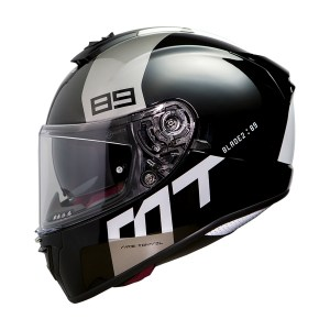 Casco Integral Mt Helmets Blade 2 Sv Gris Brillante