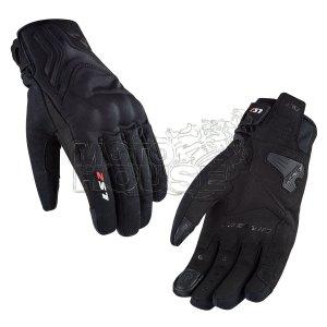 Guante Para Motociclismo Impermeable Ls2 Mod. Jet 2 Negro