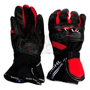 Guantes P/ Moto Largos Textil C/ Protecciones Kohl 001 Rojo