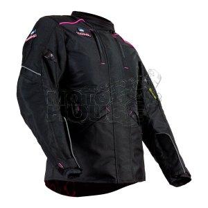 Chamarra P/moto C/ Protecciones Forro Térmico Kohl 240 Rosa