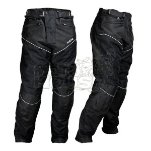 Pantalon P/ Moto C/ Protecciones Certificadas Resistente Al Agua K651