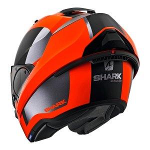 Casco Abatible Shark Evo Es Endless Negro/rojo
