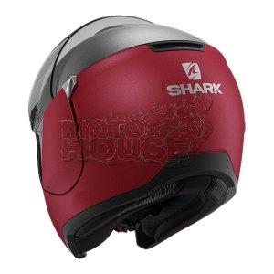 Casco Abatible Shark Evojet Dual Rojo/titanio
