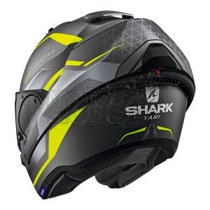 Casco Abatible Shark Evo Es Yari Gris/amarillo