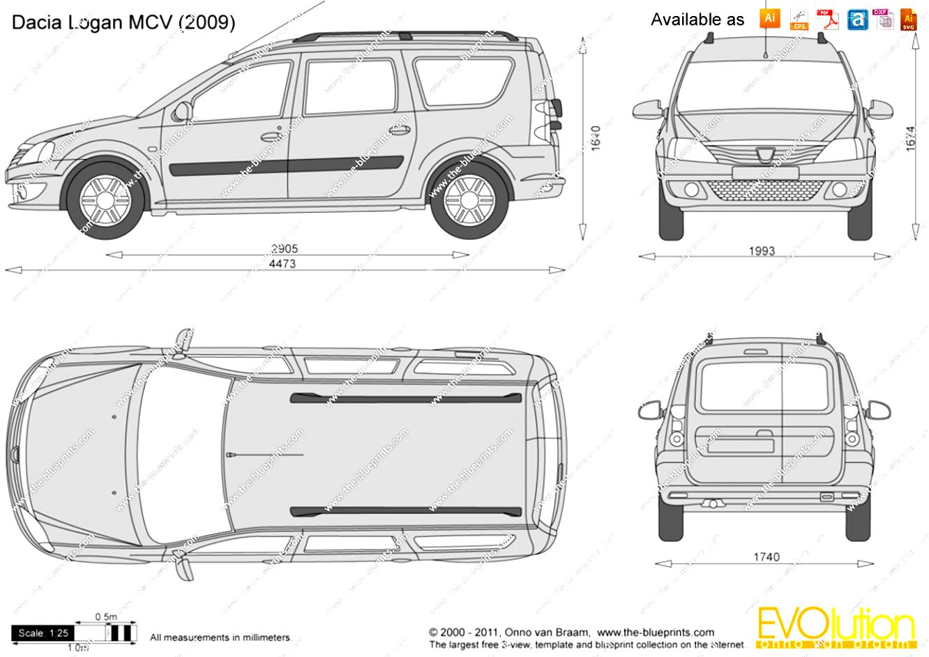 Dacia Logan MCV 2008 on MotoImg.com