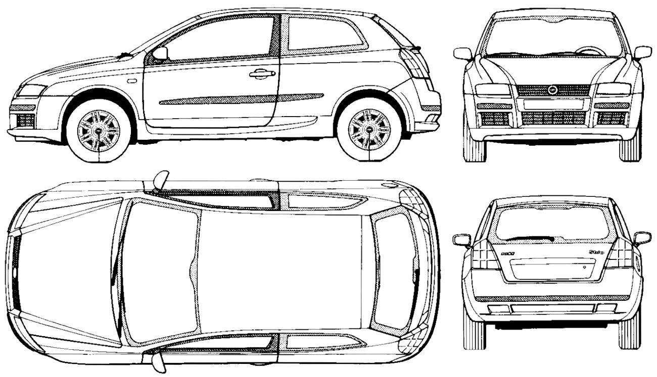 Fiat Grande Punto 3 Doors 2005 on MotoImg.com