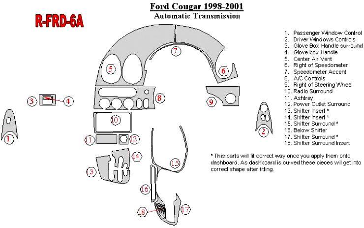 Ford Cougar 1998 on MotoImg.com