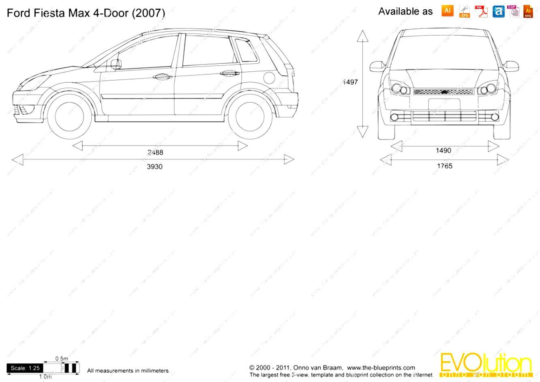 Ford Fiesta 5 Doors 2002 on MotoImg.com