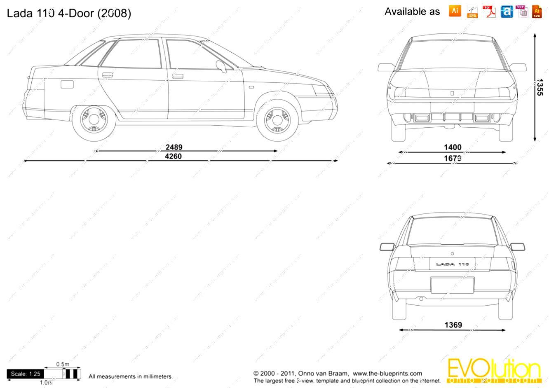 Lada 110 1998 on MotoImg.com