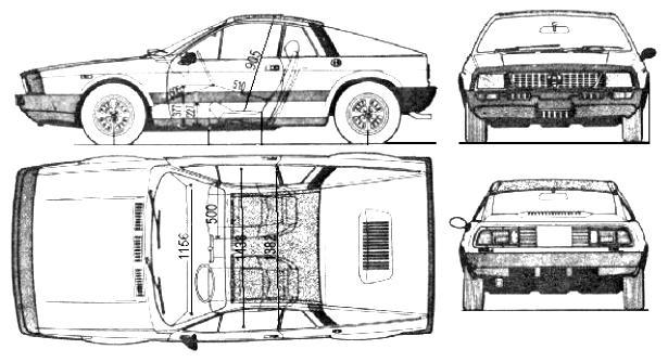 Lancia Beta 1975 on MotoImg.com