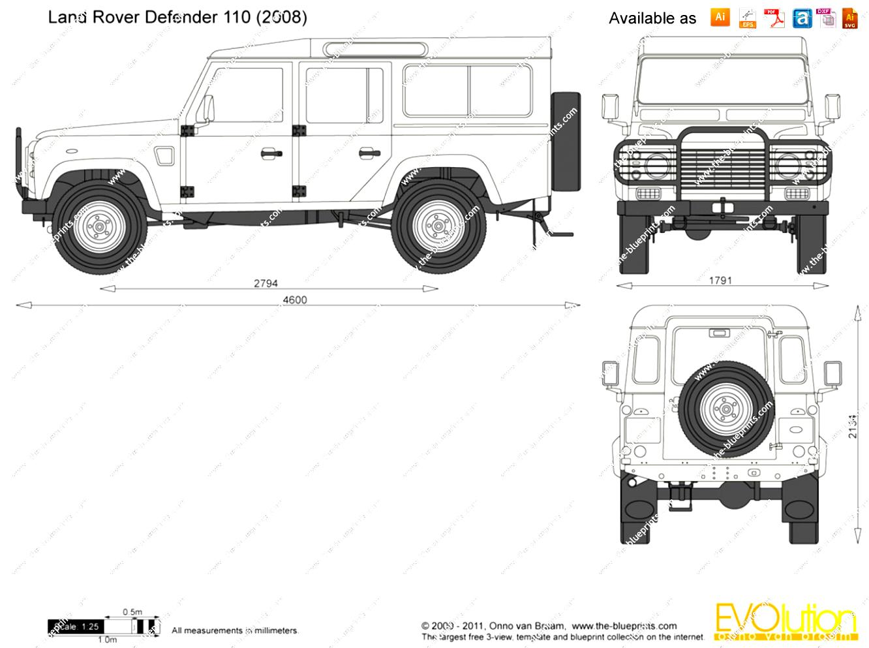 Land Rover Defender 110 1991 on MotoImg.com