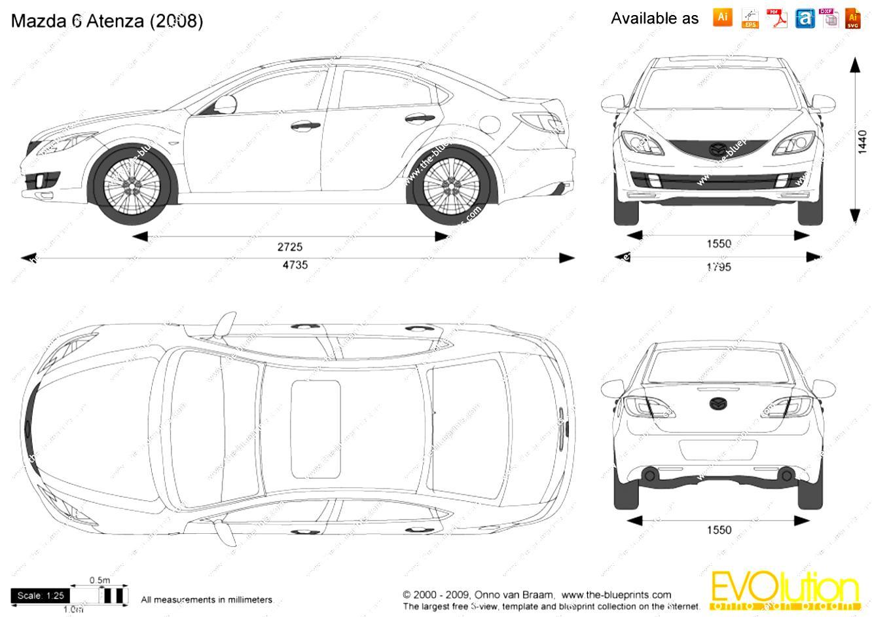 Mazda 6/Atenza Sedan 2013 on MotoImg.com