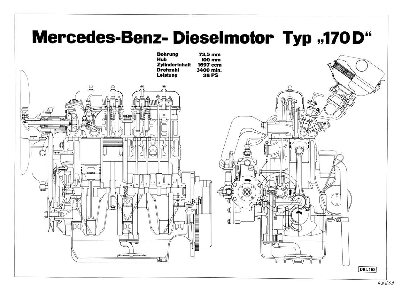 Mercedes Benz Typ 170 Cabriolet W136 1949 on MotoImg.com