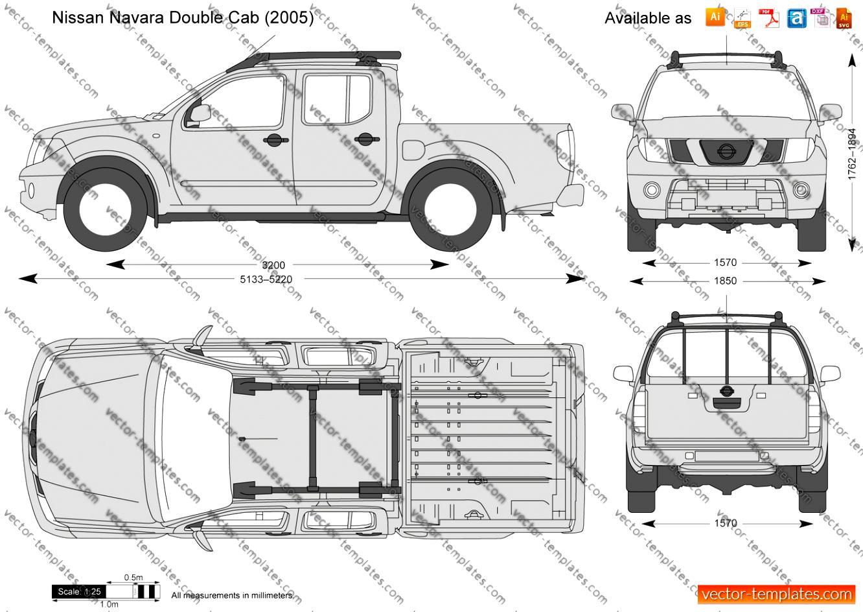 Nissan Navara / Frontier Double Cab 2005 on MotoImg.com