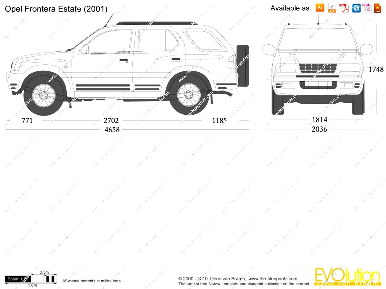 Opel Frontera Sport 1998 on MotoImg.com