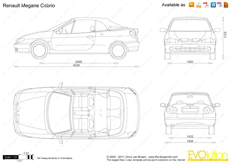 Renault Megane Cabrio 1997 on MotoImg.com