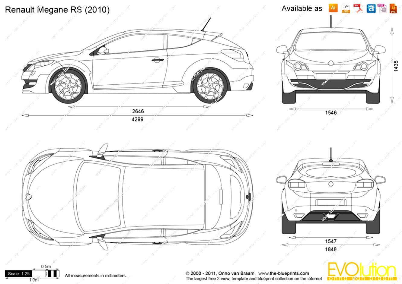 Renault Megane RS Coupe 2009 on MotoImg.com