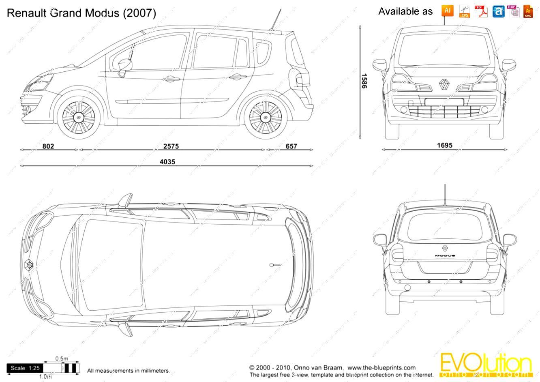 Renault Modus 2005 on MotoImg.com