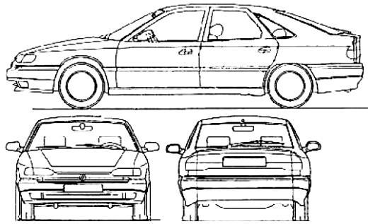Renault Safrane 1996 on MotoImg.com