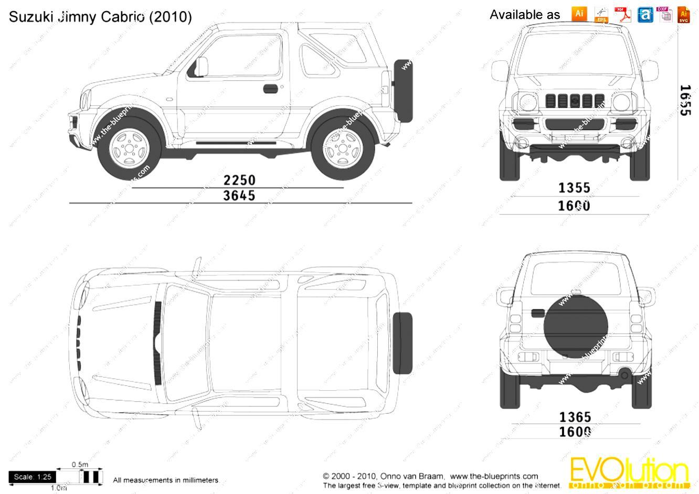 Suzuki Jimny Cabriolet 2005 on MotoImg.com