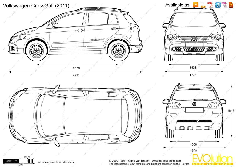Volkswagen CrossGolf 2007 on MotoImg.com