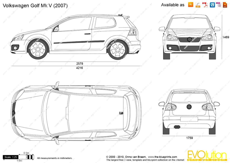 Volkswagen Golf V 3 Doors 2003 on MotoImg.com