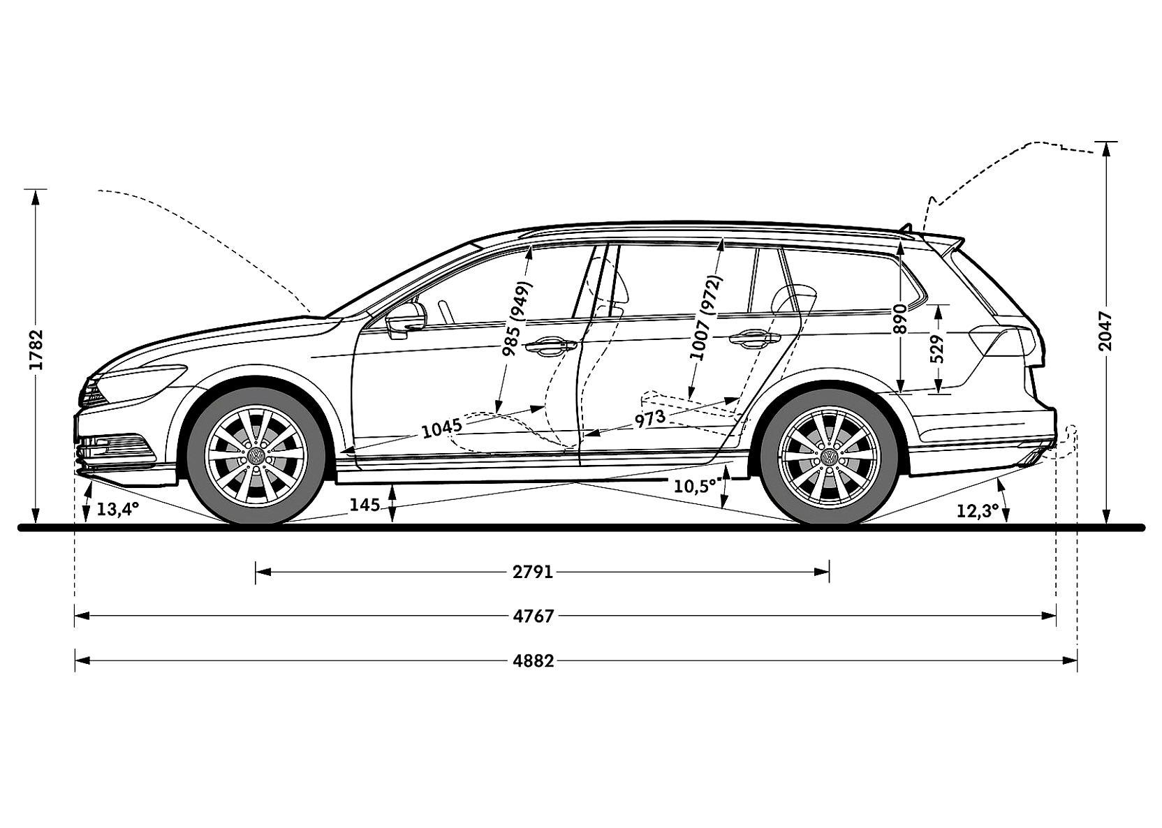 Volkswagen Passat Variant 2014 on MotoImg.com