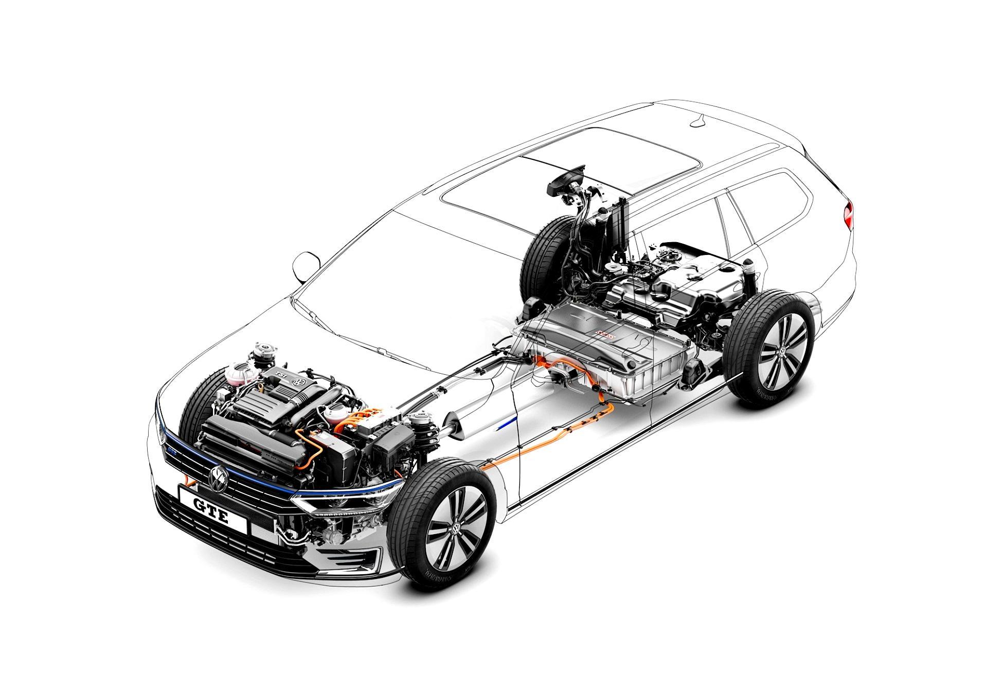 Volkswagen Passat Variant GTE 2015 on MotoImg.com
