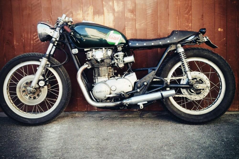 medium resolution of yamaha xs650 motorrad umbau custom bike cafe racer