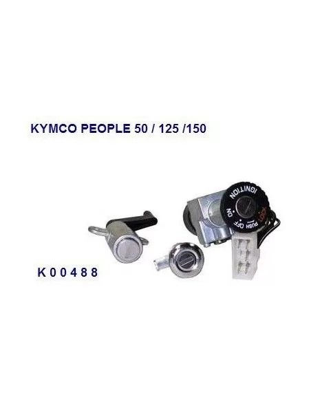 KIT SERRATURE KYMCO PEOPLE 50 125 150 BLOCCHETTO