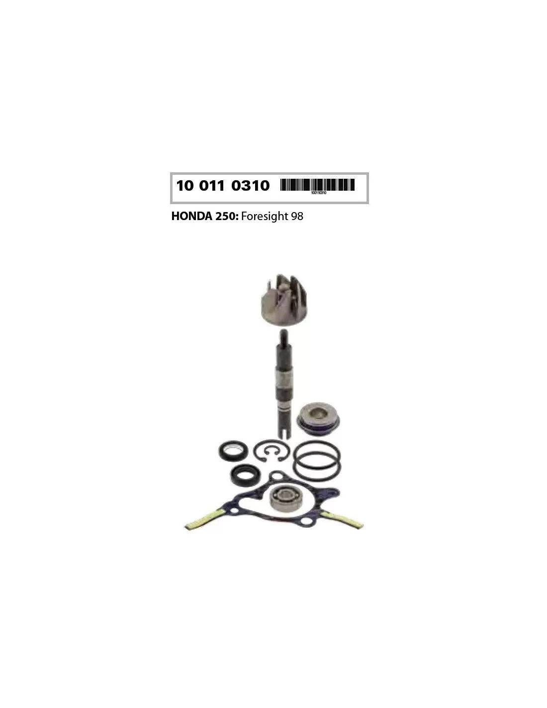 WATER PUMP HONDA FORESIGHT 250 COMMERCIAL REPLACEMENT KIT