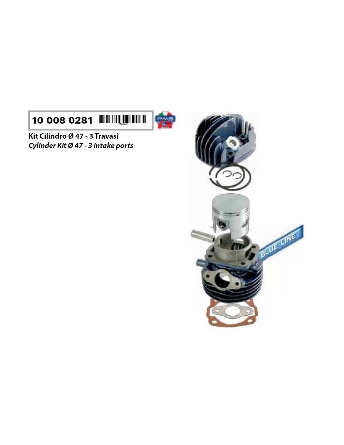 gilindro és a dugattyú piaggio vespa 75cc pk speciális