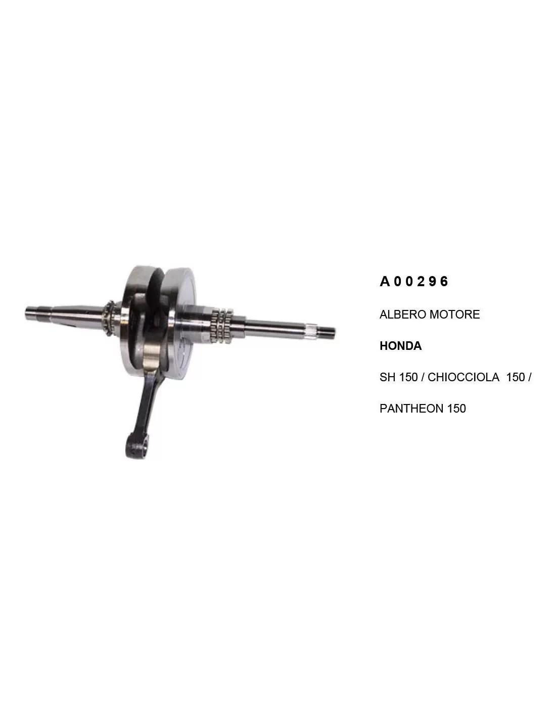 Albero Motore Honda Sh 150 Commerciale Prodotto Collaudato