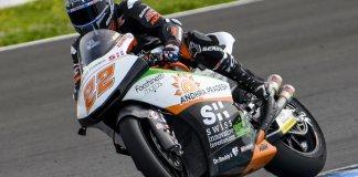 Sam Lowes testes Moto2 Jerez II 3