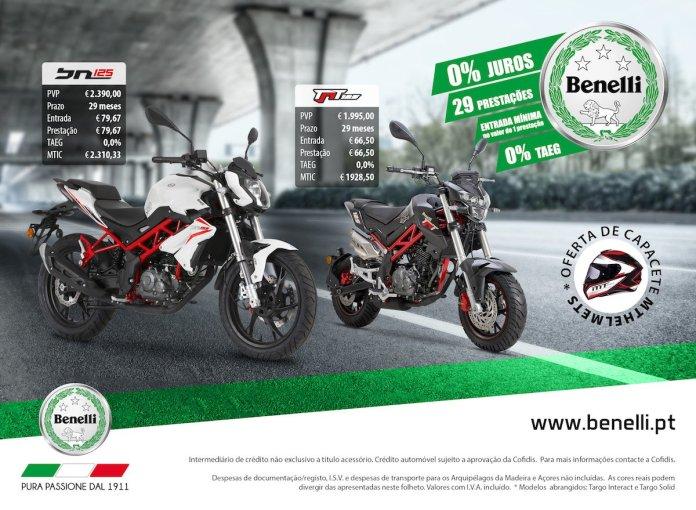 Campanha Benelli 125