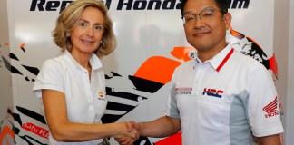 Begoña Elices e Yoshishige Nomura, Repsol Honda