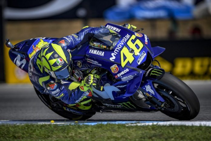 Valentino Rossi GP Rep Checa qualif