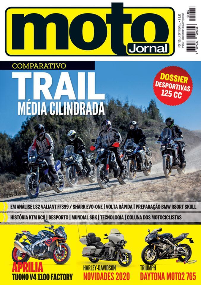 Capa Revista Motojornal