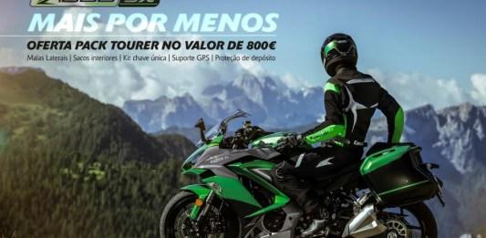 """Kawasaki Z1000 SX com oferta do Pack """"Tourer"""""""