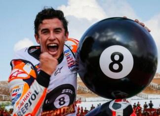 Marc Márquez imparável sagra-se campeão de MotoGP