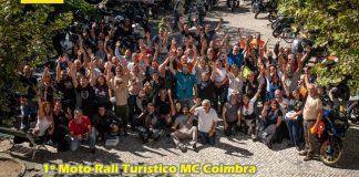 Moto-rali em Coimbra 2019 foi lição de sucesso