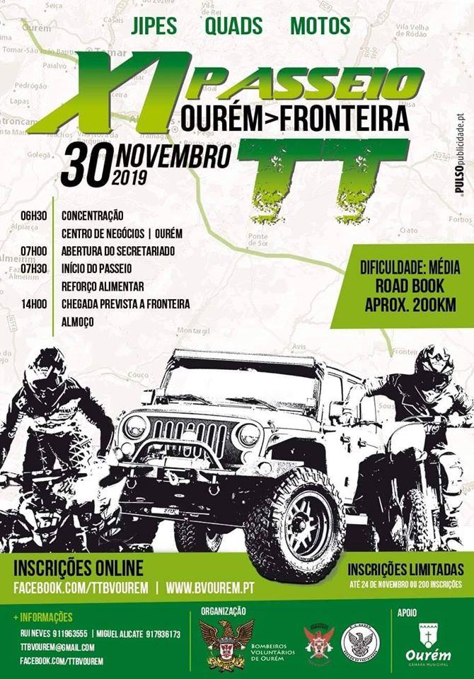XI Passeio TT Ourém-Fronteira