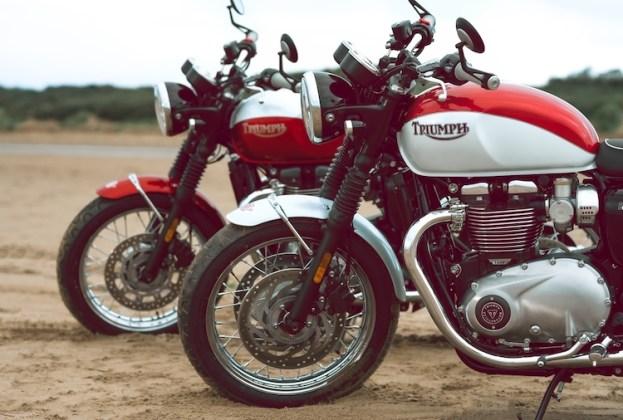 Triumph-Bonneville T100 e T120 Bud Ekinss