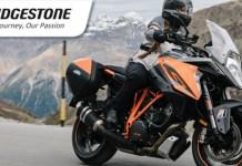 Campanha Lusomotos pneus Bridgestone