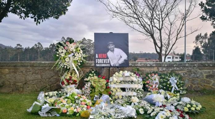 Funeral Paulo Gonçalves