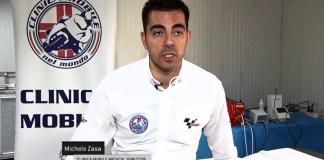 Michele Saza, medico MotoGP