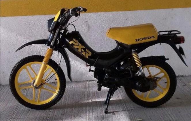 Honda PXR 50 Yellow