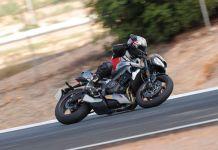 Teste Triumph Speed Triple RS