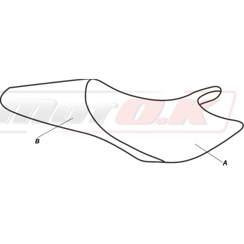 Seat cover for Ducati Monster 696-796-795-1100 (08-14)